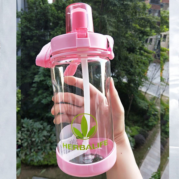 Herbalife 1L 2L Oversized Water Bottle Portable Space Bottle Herbalife Sports Nutrition Custom Shaker Bottle