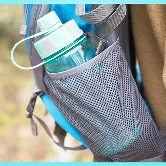 600ml 800ml 1000ml 1500ml 2000ml Large Capacity Plastic Water Bottles With Tea Infuser Portable Outdoor Sports Fitness Leak-proof Shaker Bottles