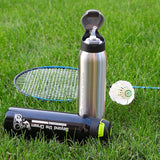 500ml Stainless Steel Sports Straw Water Bottles Vacuum Insulation Portable Bicycle Sports