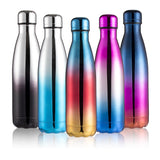 500ml Double-Wall Insulated Vacuum Flask Stainless Steel Water Bottle BPA Free Thermos for Sport Water Bottles