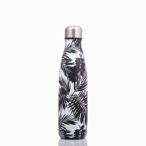 500ml Stainless Steel Beautiful Cola Thermos Water Bottle Stainless Steel Travel Flask