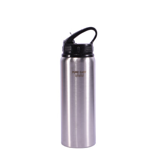 750ml stainless steel water bottle with straw drink bottle kids sport water bottle with straw bpa free bottles