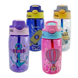 POWCAN Bpa-Free 480ml Fashion Design Sport&Outdoor Plastic PC My Water Straw Bottle Portable Handle Lid For Kids And Students