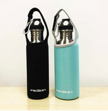 FEIJIAN Sports Water Bottle Stainless Steel Flask Wide Mouth Leak-proof Canteen 750ml