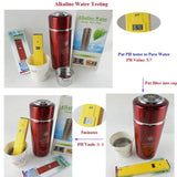 alkaline water filter cartridge  5pcs/lot  replacement for nano flask stainless energy