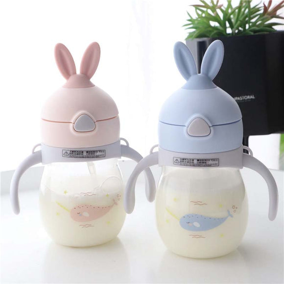 320ml Baby Bottle Anti Colic Air Vent Wide Neck Natural Nursing Feeding Bottle for Infant BPA Free Baby Care Bottle