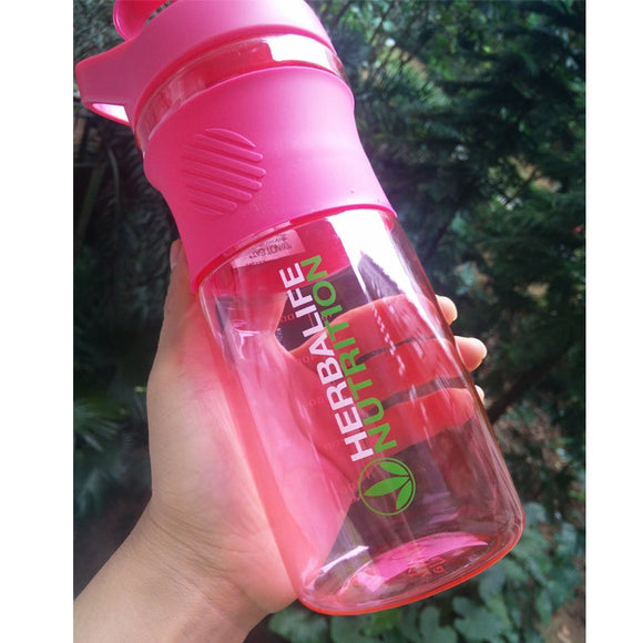 Herbalife Pink Green Blue 800ml Nutrition 24 Fit Water Plastic Bottle Fashion Portable Custom Protein Powder Shaker Bottle
