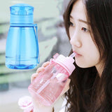 New Cartoon Totoro Water Bottle Portable Sport Camping Cycling Juice Drinkware Plastic Children Kids Water Bottle BPA Free