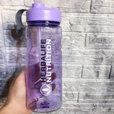 Herbalife 1000ml Plastic Large Nutrition Milk Shake Bottle With Straw Inside Space Bottle Kettle BPA Free