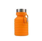 550ml Silicone Portable Telescopic Collapsible Travel Sport Folding Drink Water Bottle Kettle Sports Outdoor Retractable