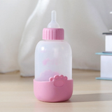 100ml Dog Cat Bottle Pet Feeding Milk Water Tools Cleaning Brush Nipples Feeding Nursery Drinking for Cat Puppy Kitten Rabbits