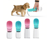Geekinstyle  350 / 550ML Portable Pet Drinking Bottle Dog Cat Health Feeding Water Feeders Pet Travel ABS Drinking Products
