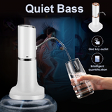Electric Water Bottle Pump USB Automatic Drinking Water Pump Portable Electric Water Dispenser Water Pump For Bottled Water