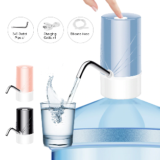 USB Rechargeable Wireless Smart Electric Water Pump Dispenser Bottle Portable Beverage Suction Automatic Suction Pump For Home