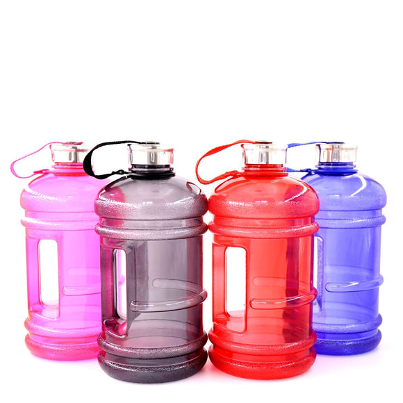 Soffe 2.2L Large Capcity 1/2 Gallon Water Bottle Bpa Free Shaker Protein Plastic Sport Water Bottles Handgrip Gym Fitness Kettle