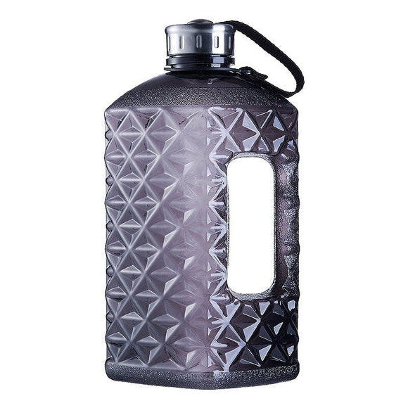 Soffe Diamonds 1/2 Gallon Water Bottle Bpa Free 2.2L Large Capcity Shaker Protein Plastic Sport Water Bottles Gym Fitness Kettle