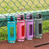 UZSPACE Protein Shaker Diamond Ion Plastic Water Bottle Optional capacity My Sports Eco-friendly Tritan(bpa Free)