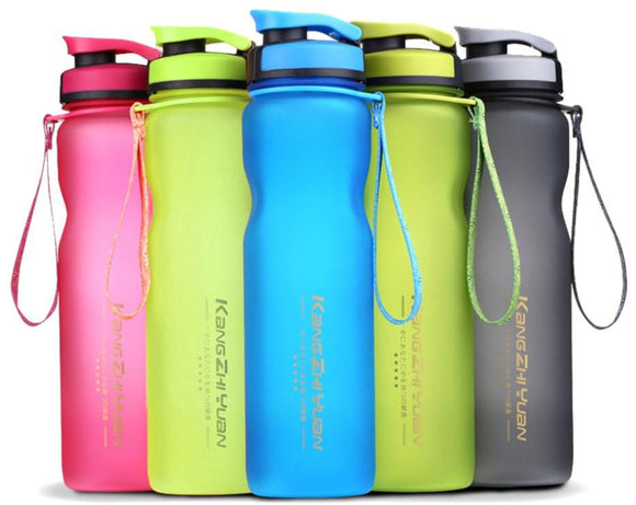 600ml 1000ml Transhome Plastic Bpa Free Portable Water Bottle Sport Bottle Cycling Biking Travel Drinkware