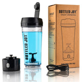 bottled joy whey protein shaker bottle Rechargeable sports joyshaker water bottle electric shaker gym protein 450ml/16OZ