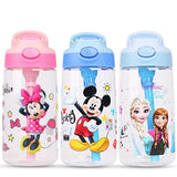 Kids frozen elsa anna Mickey Minnie  Feeding Cups Water Bottle Baby princess Children Boys cars Girls Protable Bottle