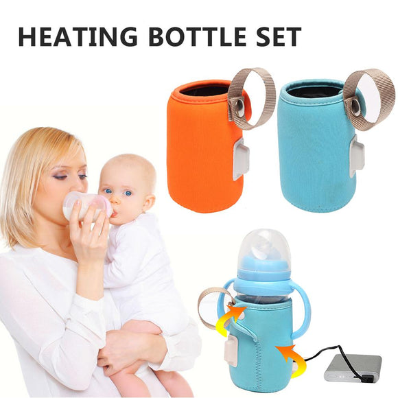 Smart Outdoor Baby Bottle Bag Portable Milk Heating Warm Milk 42C Constant Temperature