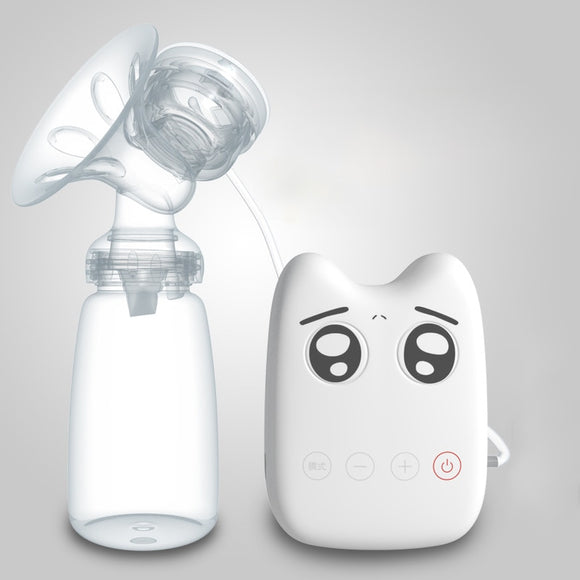 Real Bubee Electric Breast Pump Natural Suction Enlarger Kit Breast Feeding Bottle USB Breast Pump Baby Feeding Bottle
