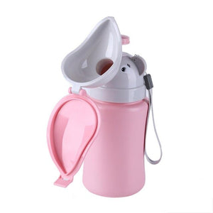 Portable Urine Bag for Baby Girl Boy Kids Cute Urinal Potty Car Toilet Automobiles Travel Urinal Urination Reusable Pee Bottle