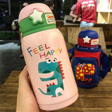 500ml Baby Feeding Cup Stainless Steel Milk Thermos for Children Insulated hot water Bottle leak-poof thermal Cup