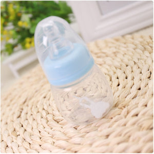 60ML Baby Mini Portable Feeding Bottle Newborn Kids Nursing Care Feeder Fruit Juice Medicine Milk BPA Free Safety Bottles