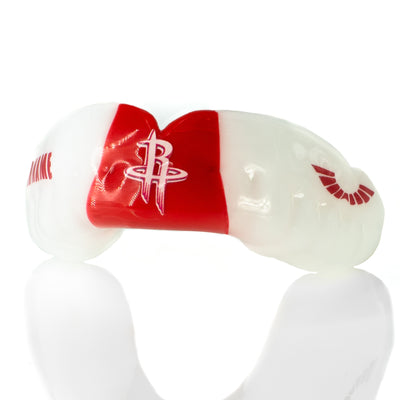 Custom Sports Mouth Guards  Example of 3 Stripes Bicolor