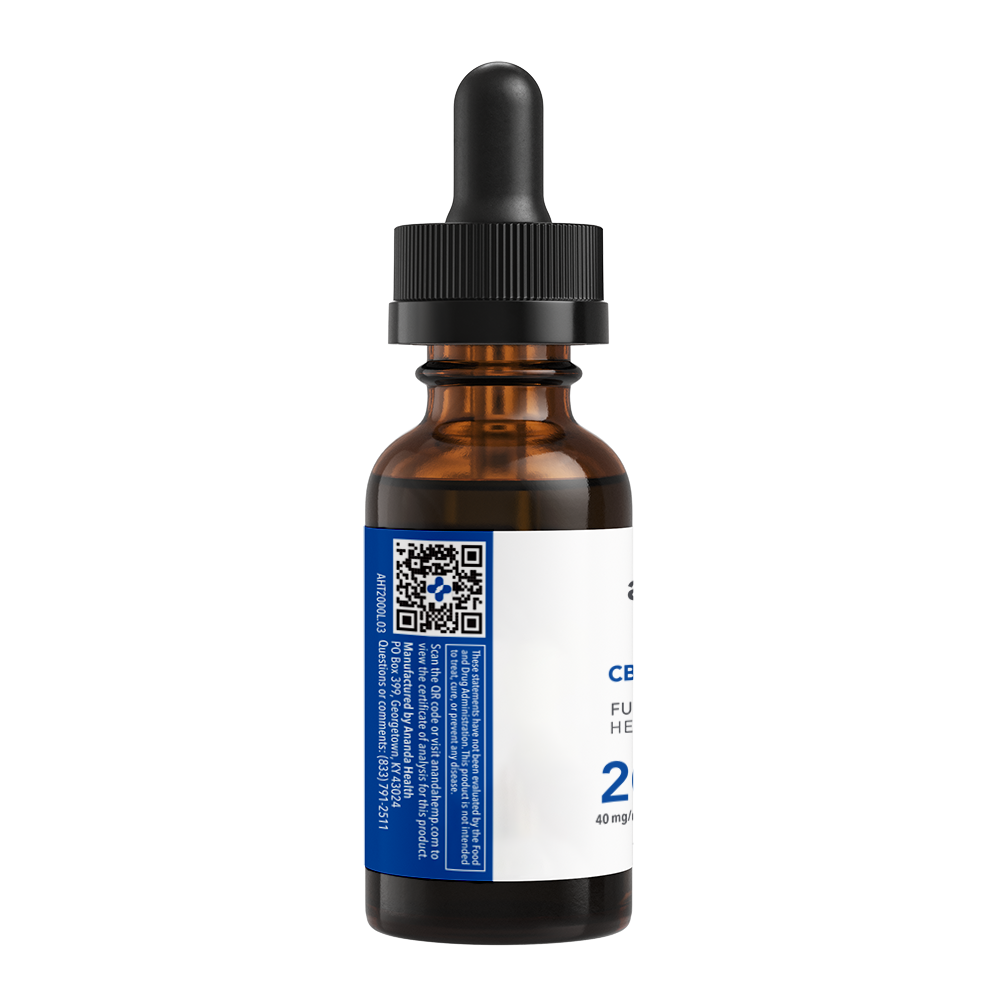Full Spectrum 2000 CBD Oil, Premium Hemp Extract