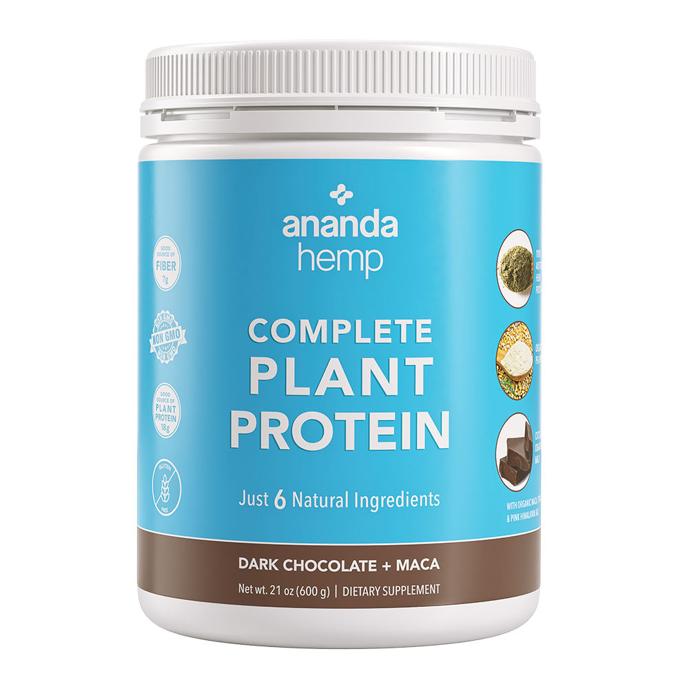 Complete Plant Protein 600g (Chocolate + Maca)