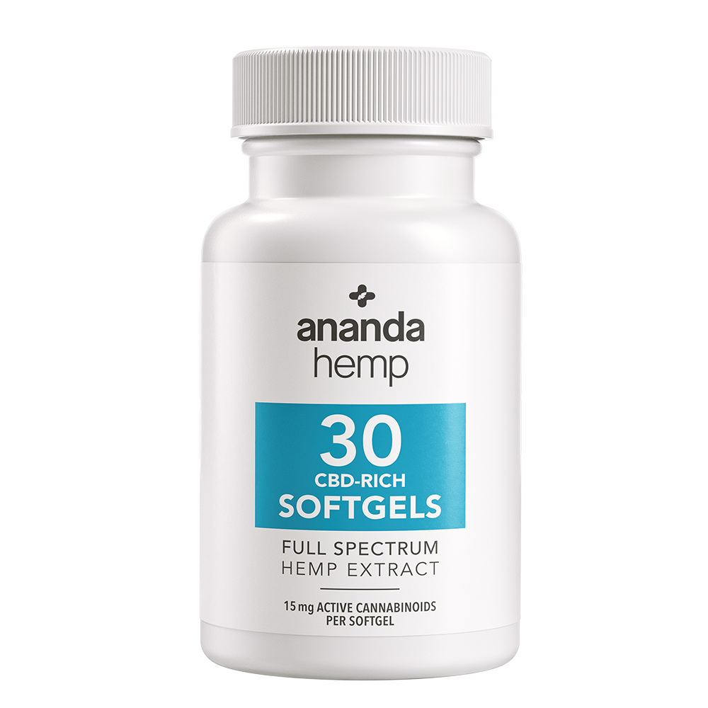 Full Spectrum CBD Softgels 30 ct.