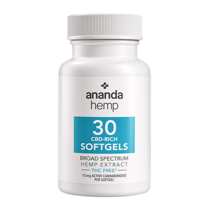 Broad Spectrum THC-Free Softgels 30 ct