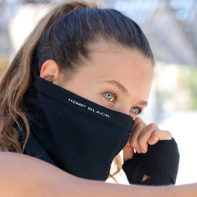 Hemp Black Fusion Flex Gaiter
