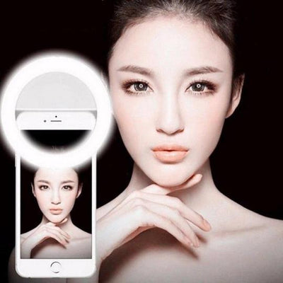 PORTABLE SELFIE RING LIGHT - Savefy
