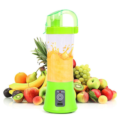 New 380ml Portable Blender USB Rechargeable Electric Automatic Vegetable Fruit Citrus Orange Juice Maker - Savefy