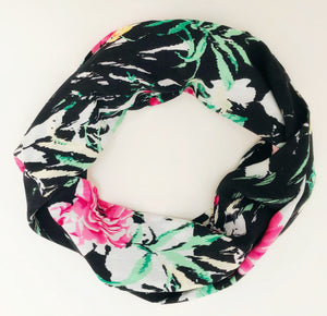 infinity secret pocket travel scarf