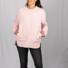 Load image into Gallery viewer, Pullover hidden pocket travel sweatshirt