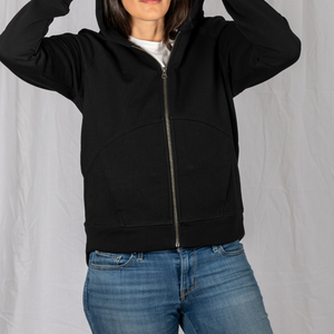 Travel hoodie sweatshirt with five pockets