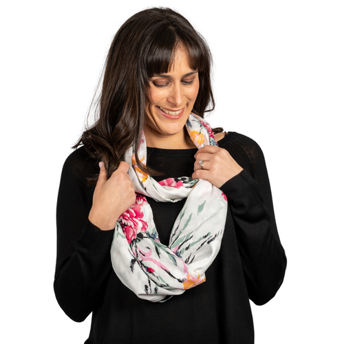 Debbie Infinity Scarf With Pocket