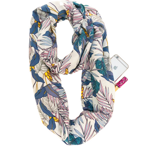 Gabrielle Infinity Scarf With Pocket
