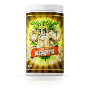Ludicrous Roots Fertilizer - Super Nutrients and Biostimulants Premium Fertilizer Eco Friendly to stimulate root growth to Grow The Ultimate Plants for Indoor, Outdoor, and/or Hydroponic Growing or Soil (ROOTS fertilizer, 500 grams)