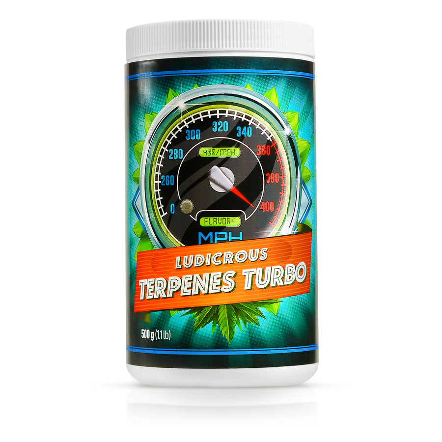 Ludicrous Nutrients Terpenes Turbo Powder Flavor Aroma Taste Profile Booster Increased Production of Essential Oils in Fruiting Flowering Plants (Terpenes 500 grams)