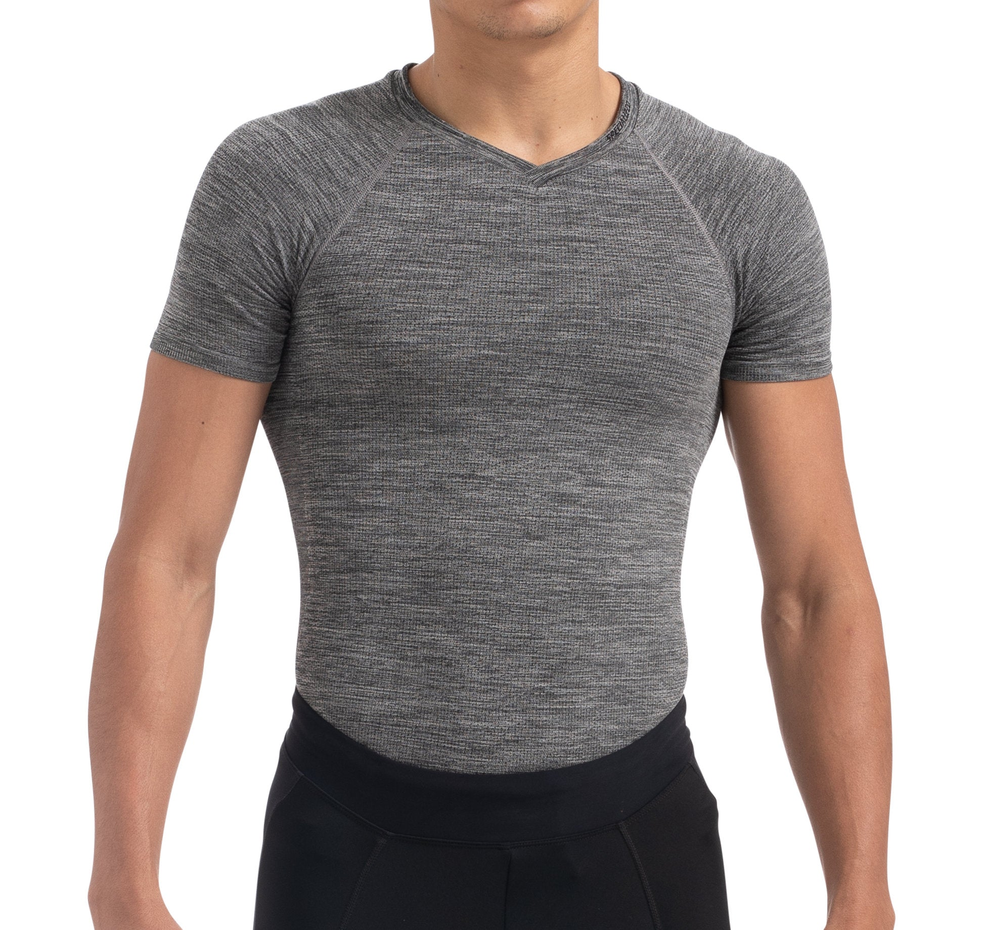 Men's Seamless Short Sleeve Base Layer