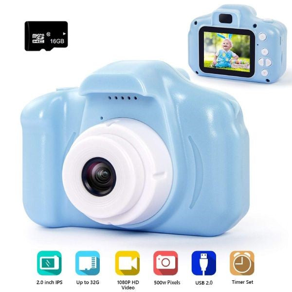 1080P HD Digital Video Camera For Kids