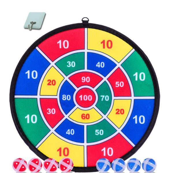 Velcro Fabric Safe Dart Board Game for Kids