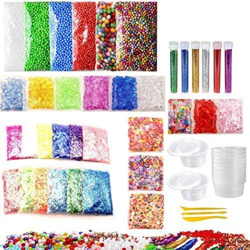 52 PC Slime Making Supplies Kit