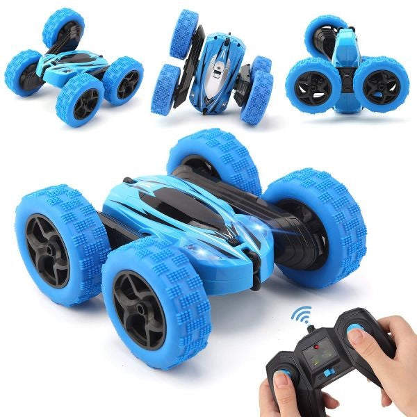 4WD Double Sided 360° Rotating Flips RC Off-Road Car