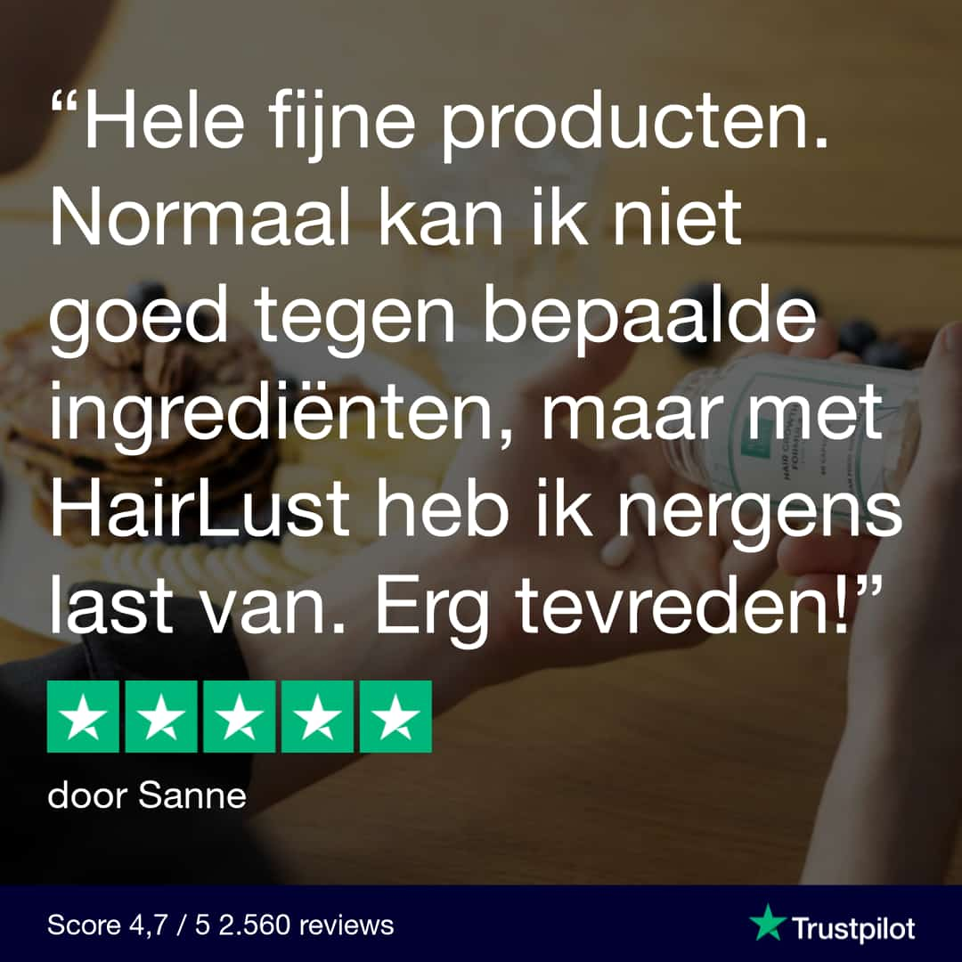Hairlust klantenreview